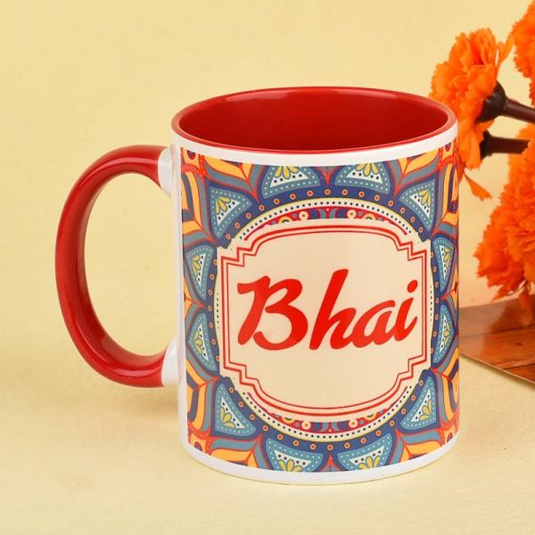 Printed Mug for Brother on Rakhi