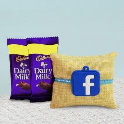 Facebook Rakhi N Dairy Milk Chocolates