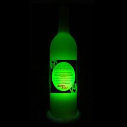 Green Rakhi Lamp for Sister
