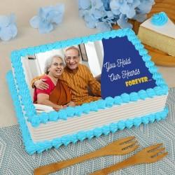 Inspiring Couple Cake