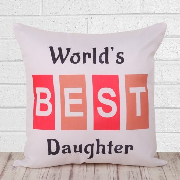 Best Daughter Cushion
