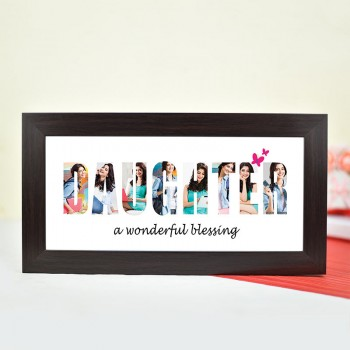 Personalised Photo Frame for Daughter