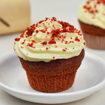 Set of 4 Red Velvet Cupcakes