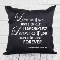 Live and Learn Cushion