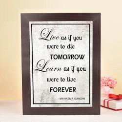 Striking Inspirational Frame