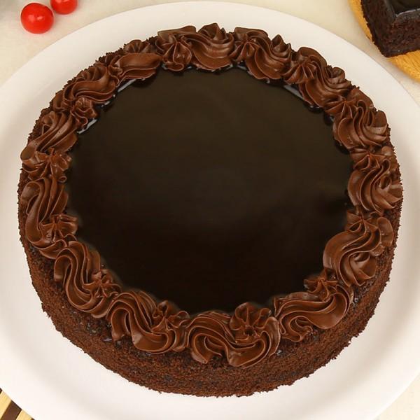Chocolate Round Shape Cake