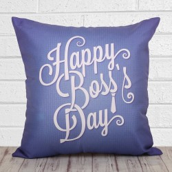 Happy Boss Day Cushion