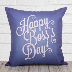 Happy Boss Day Cushion