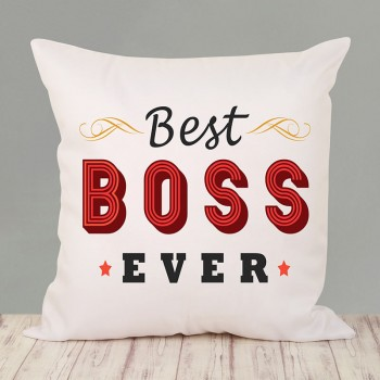 Best Boss Ever Cushion
