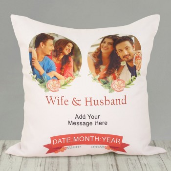 Personalised Cushion for Anniversary