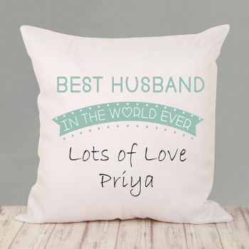 Best Husband Personalised Cushion