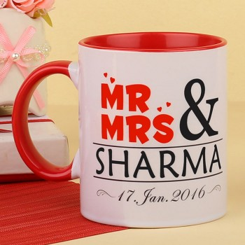 Personalised Coffee Mug for Anniversary