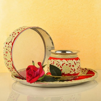 Karva Chauth Thali Items