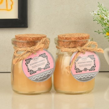 Vanilla Jar Candles