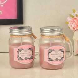 Strawberry Jar Candles