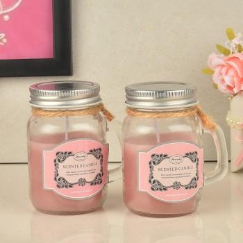 Strawberry Jar Candles