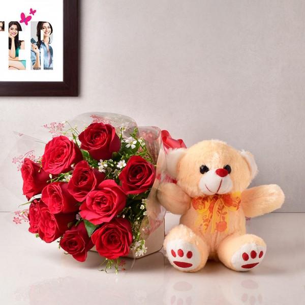 Roses in Hugs