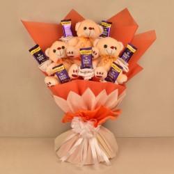 Teddy Chocolate Bouquet