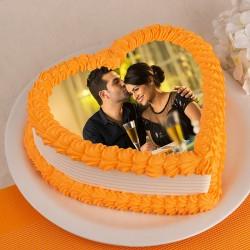 Heart Shaped Cake Online