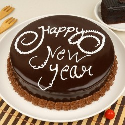 Chocolate Truffle New Year Delight