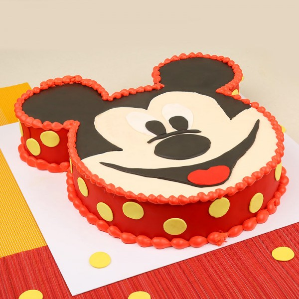 Mickey Mouse Theme Cake