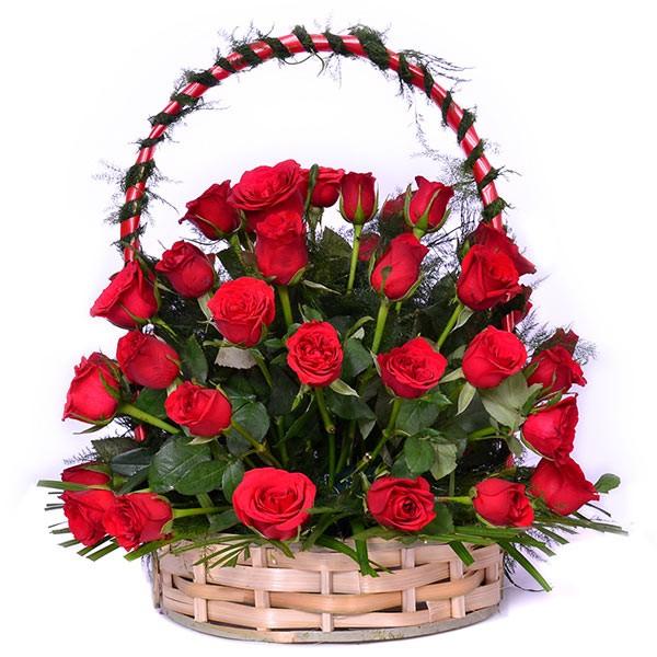 Amazing Red Basket