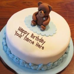 Teddy Vanilla Cake