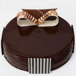 Eggless Chocolate Gateau