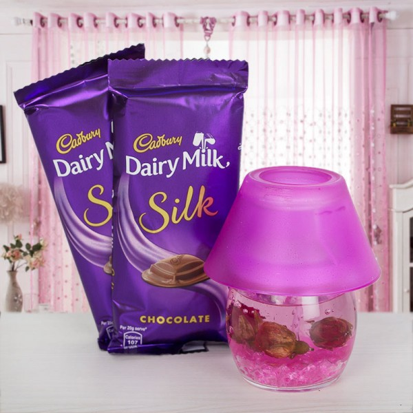Diffuser Set with Dairy Milk Silk Chocolate