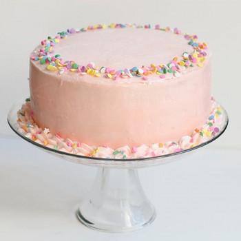 Vanilla Cream Cake Half Kg
