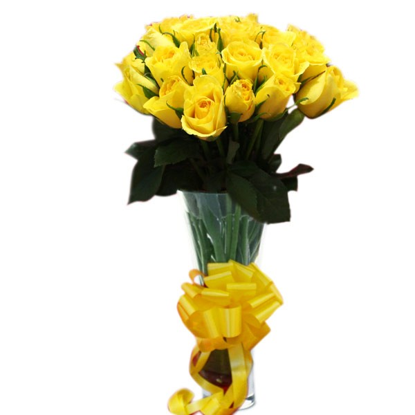 Yellow Floral Gift