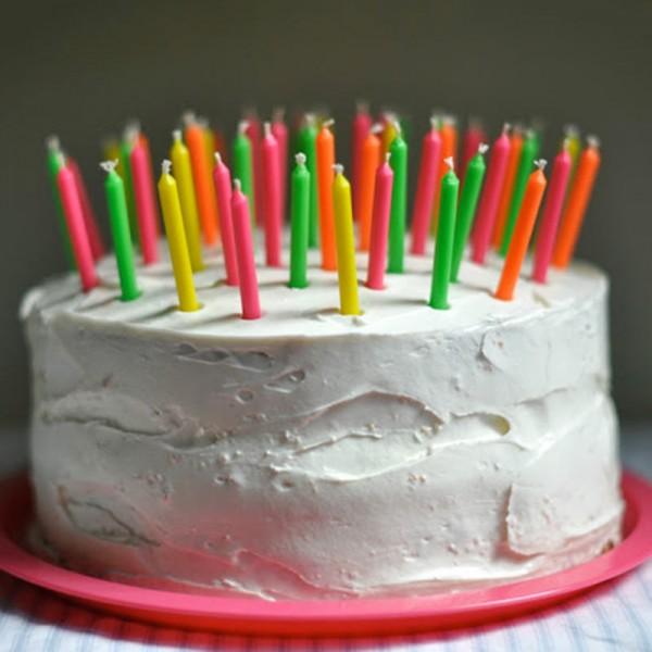 Creamy White Fondant Cake