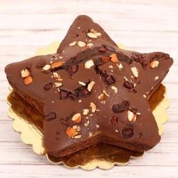 Nutty Star Plum Cake