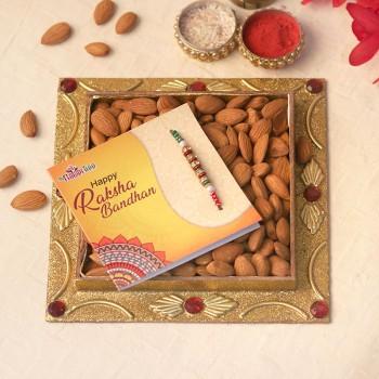 Crunch Filled Almonds Rakhi