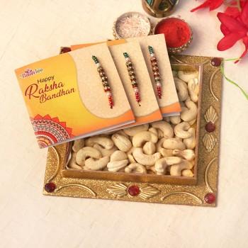Nutritious Rakhi Trio Set