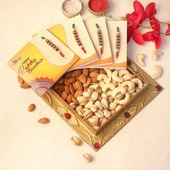 Dry Fruit Rakhi Box