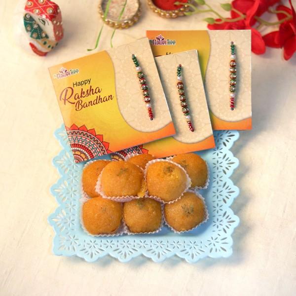 Sweetness Overloaded Rakhi Hamper