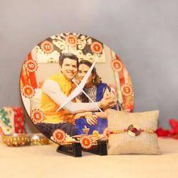 Personalised Clock Rakhi Gift