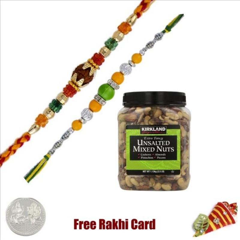 2 Rakhis Kirkland Unsalted Nut Jar