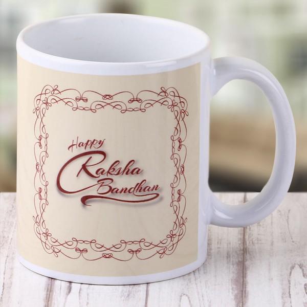 Happy Raksha Bandhan Coffee Mug