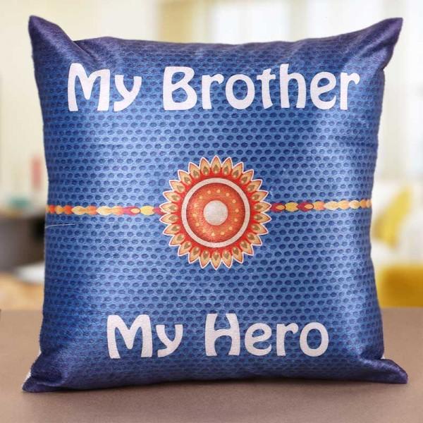 Rakhi Cushion for Brother