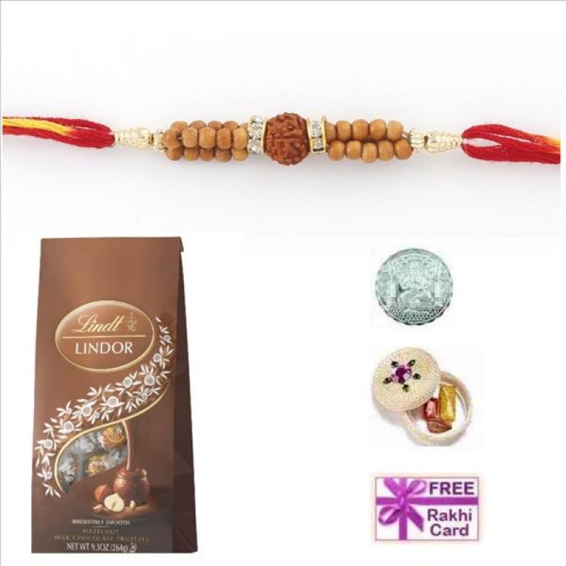 Lindt Milk Chocolate Bag Rakhi Special