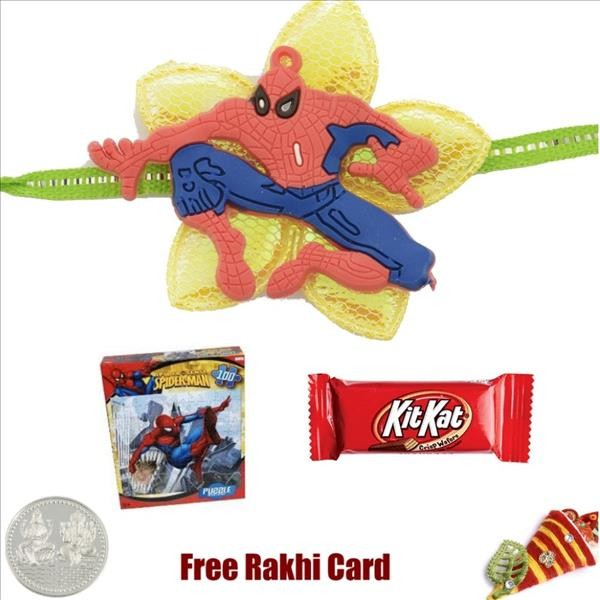 Spiderman Rakhi Pack