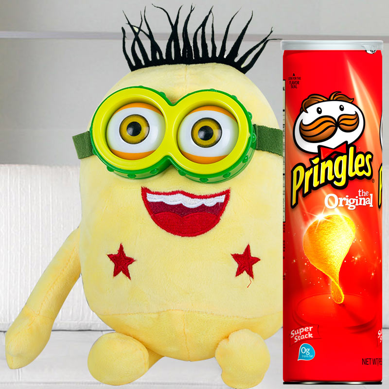 Minion with Chips