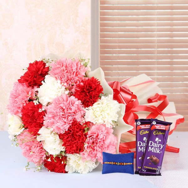 Carnation Quest with Rakhi