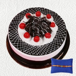 Black Forest Rakhi Combo