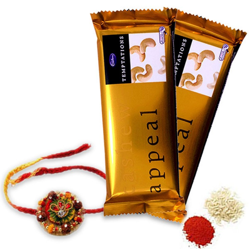 Chocolates and Rakhi Hamper