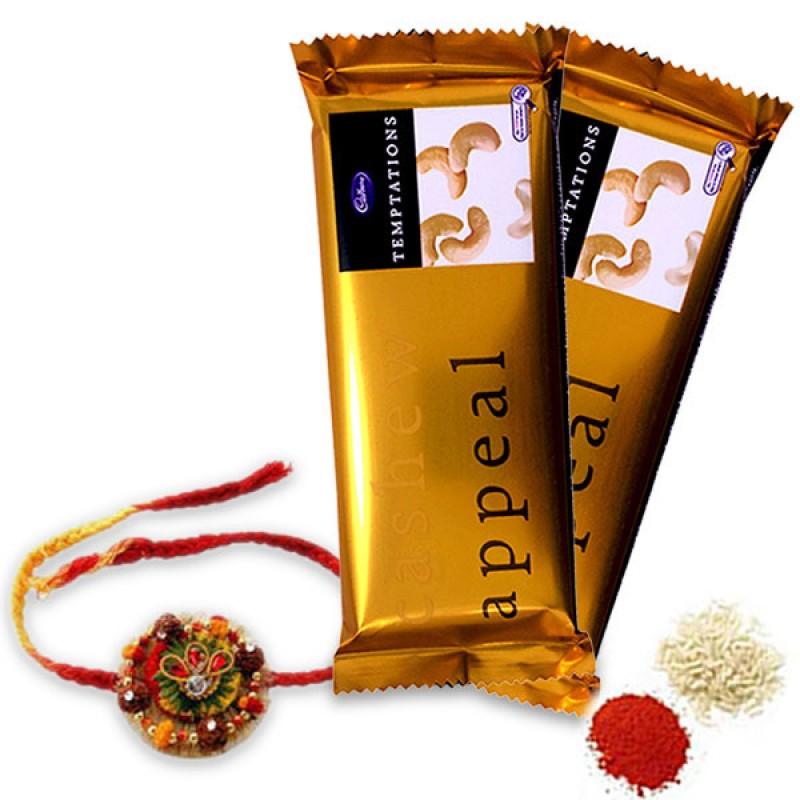 CHOCOLATES AND RAKHI HAMPER