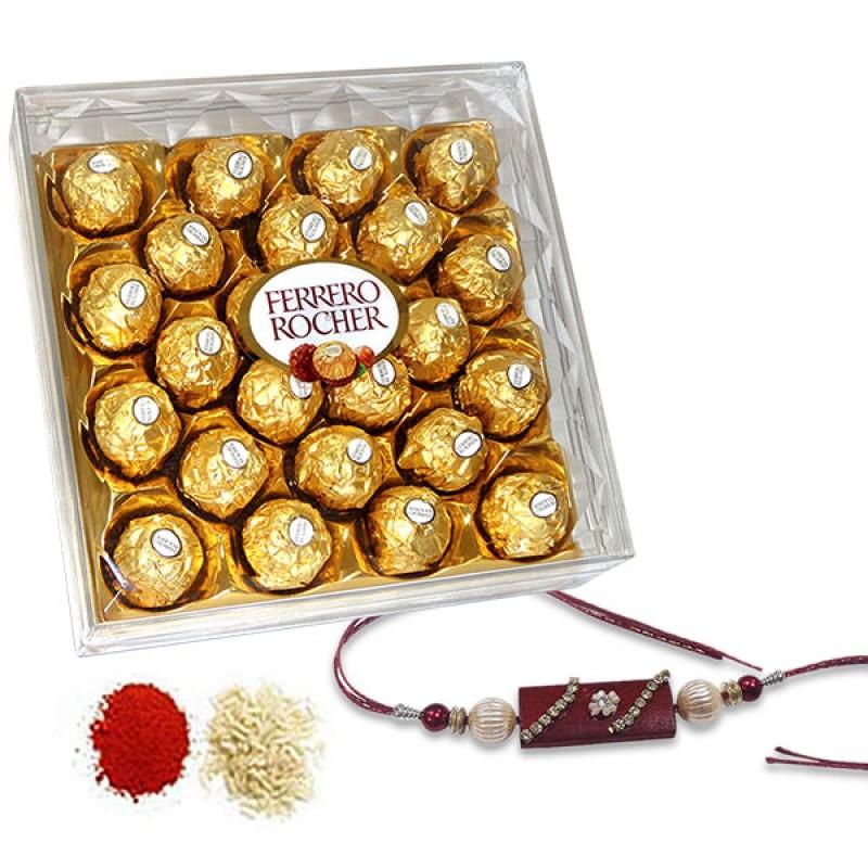 Ferrero Rocher Hamper For Bhai
