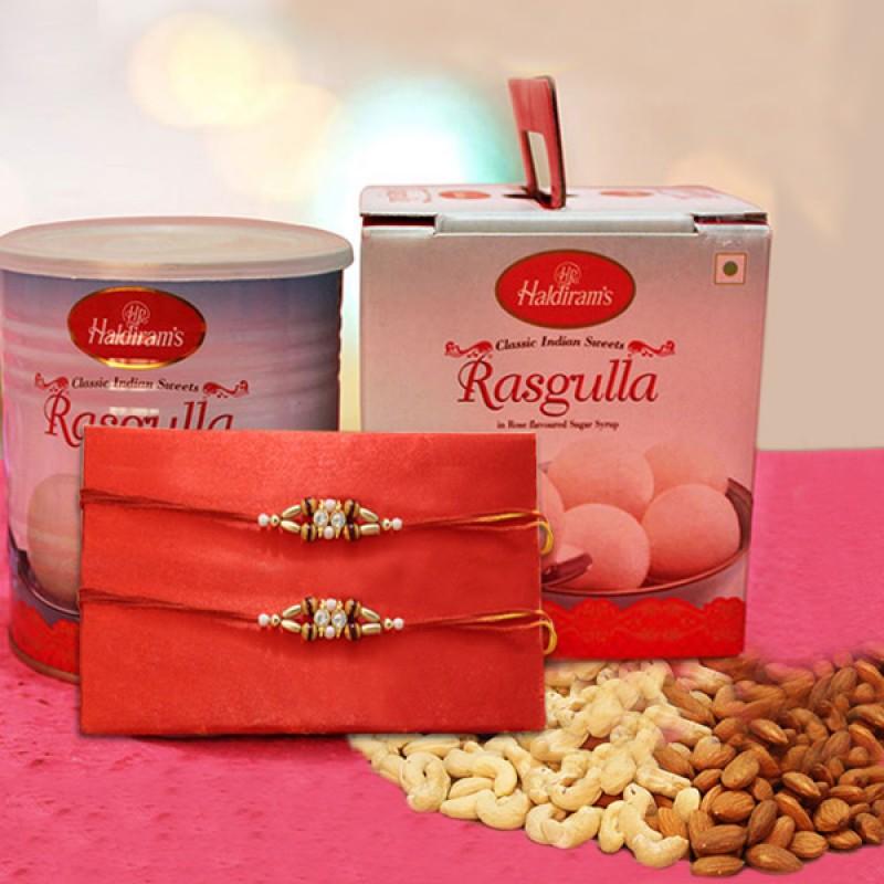 Rakhi With Rasagulla